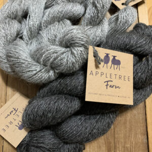 Wool yarn and roving from Appletree Farm
